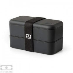 BENTO LUNCH BOX 1L CZARNE
