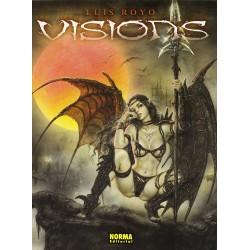VISIONS LUIS ROYO Artbook