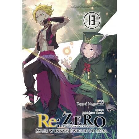 RE ZERO Życie w innym świecie od zera Light novel tom 13