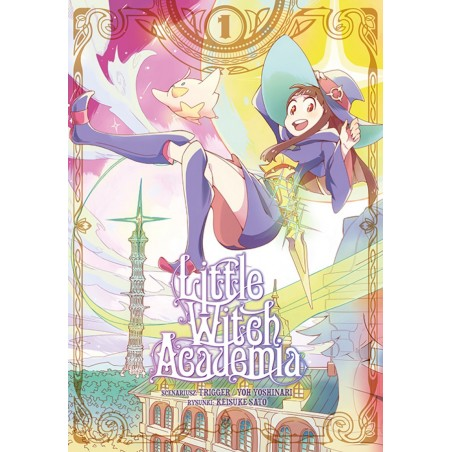 LITTLE WITCH ACADEMIA tom 1