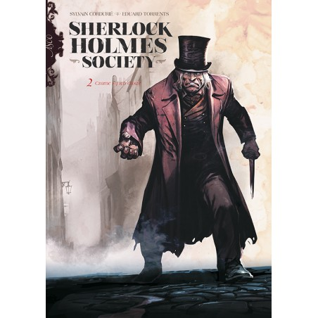 SHERLOCK HOLMES SOCIETY tom 2 Czarne są ich dusze