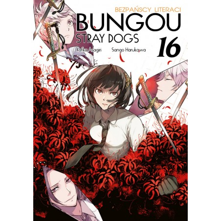 BUNGOU STRAY DOGS Bezpańscy Literaci tom 16