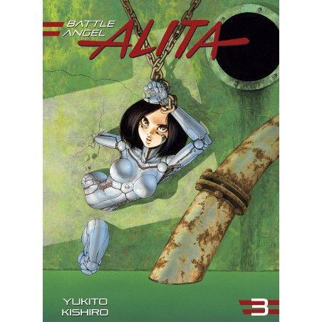 BATTLE ANGEL ALITA tom 3 Wydanie zbiorcze