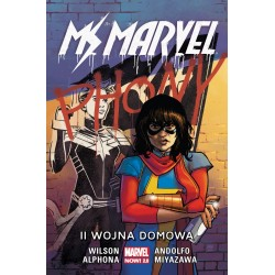 MS MARVEL tom 6 II wojna...