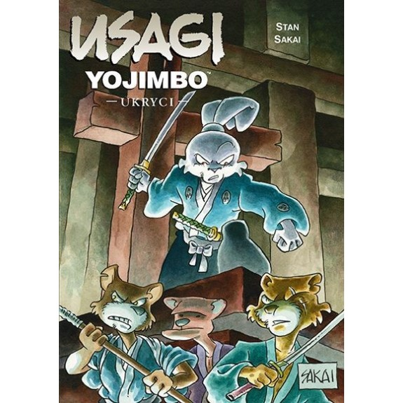 USAGI YOJIMBO tom 28 Ukryci