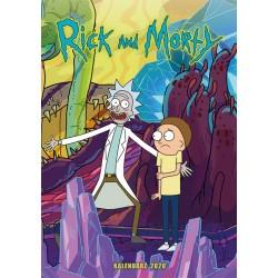 KALENDARZ Rick i Morty 2020