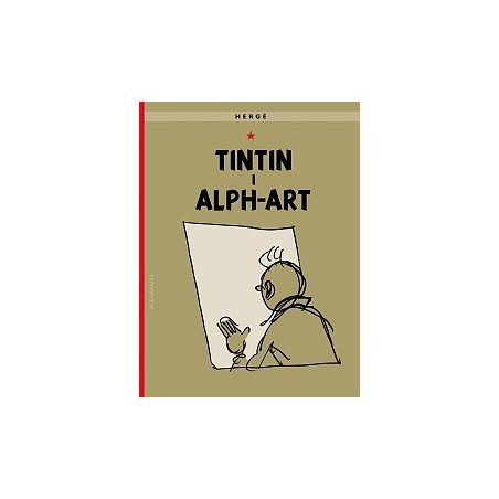 PRZYGODY TINTINA tom 24 TinTin i Alph-Art