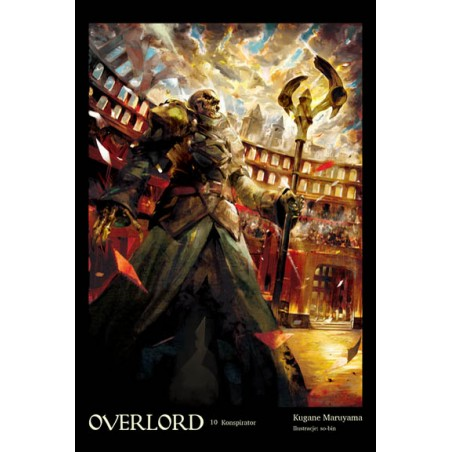 OVERLORD Light novel tom 10