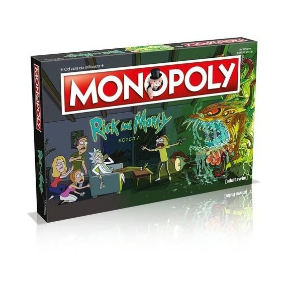 MONOPOLY RICK I MORTY