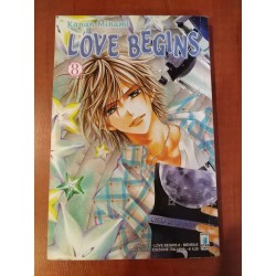 LOVE BEGINS tom 8 - używany...