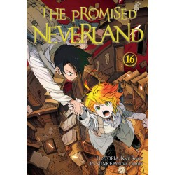 THE PROMISED NEVERLAND tom 16