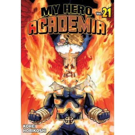 MY HERO ACADEMIA (AKADEMIA BOHATERÓW) tom 21