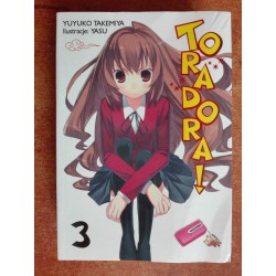 TORADORA LIGHT NOVEL tom 3...