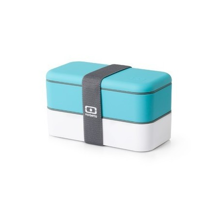BENTO LUNCH BOX 1L Niebiesko-białe