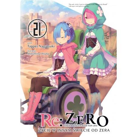 RE ZERO Życie w innym świecie od zera Light novel tom 21