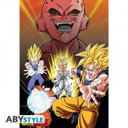 PLAKAT Dragon Ball Z Buu Vs...
