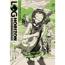 LOG HORIZON Light novel tom 8