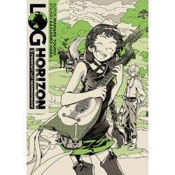 LOG HORIZON Light novel tom 8