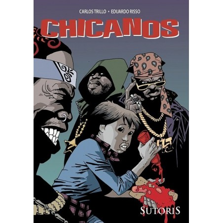 CHICANOS tom 2 Morderstwa i wielki pech