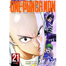 ONE-PUNCH MAN tom 21