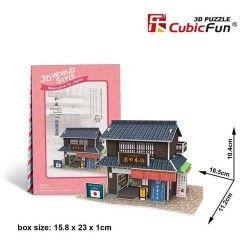 Puzzle 3D Domki świata...
