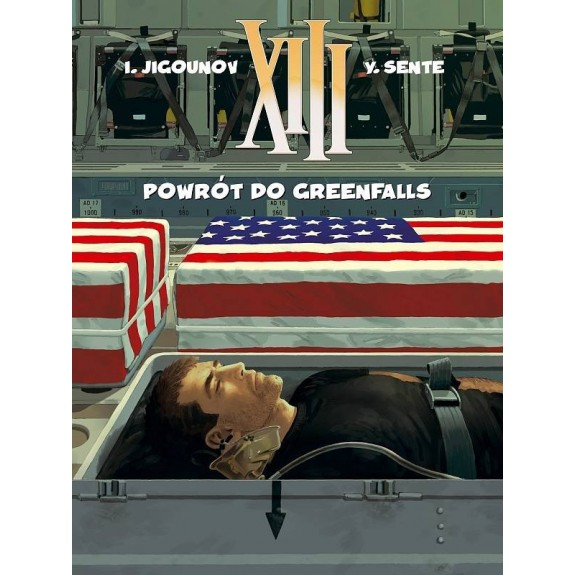 XIII tom 22 Powrót do Greenfalls