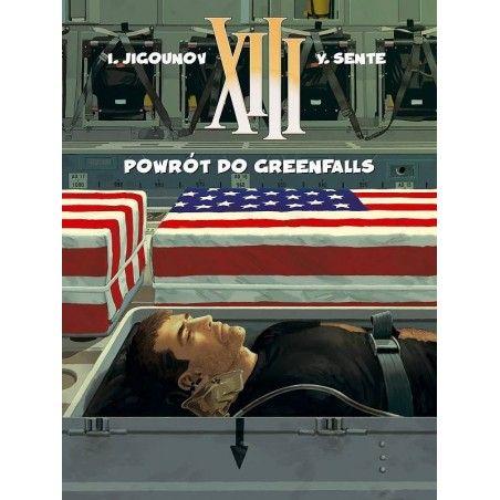 XIII tom 22 Powrót do Greenfalls
