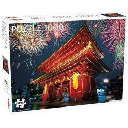 PUZZLE Temple in Asakusa...