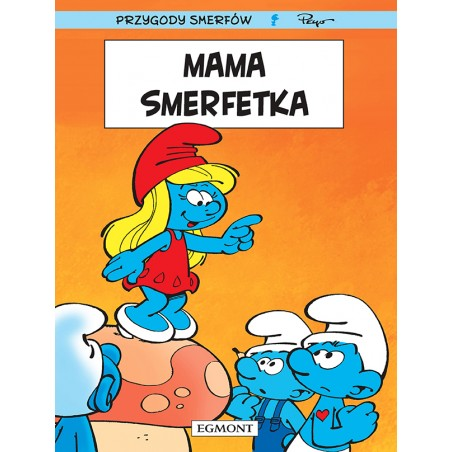 SMERFY tom 28 Mama Smerfetka