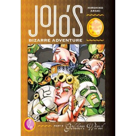 JOJO'S BIZARRE ADVENTURE Part 5 Golden Wind vol. 1