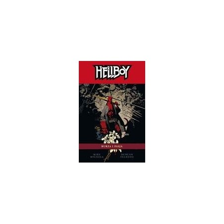 HELLBOY tom 14 Burza i pasja