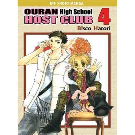 OURAN HIGH SCHOOL HOST CLUB tom 4
