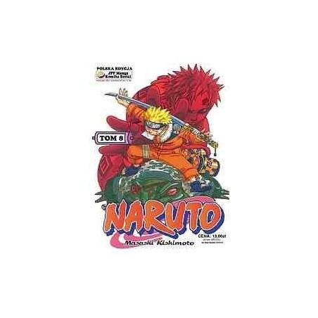 NARUTO tom 8