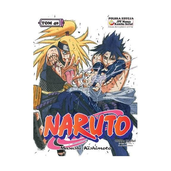 NARUTO tom 40