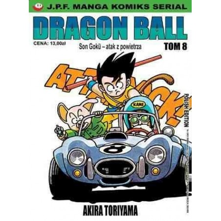 DRAGON BALL tom 8