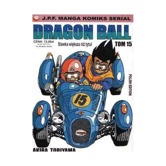 DRAGON BALL tom 15