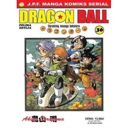 DRAGON BALL tom 36