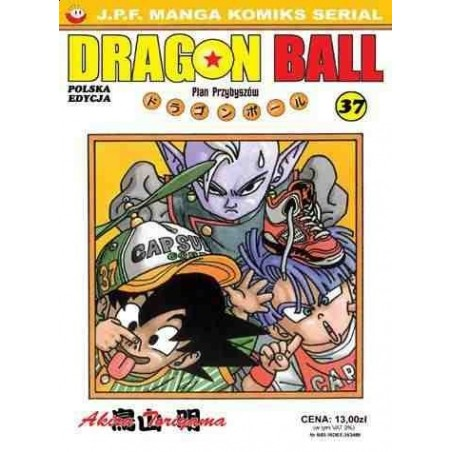 DRAGON BALL tom 37