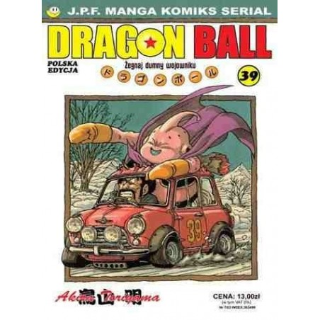 DRAGON BALL tom 39