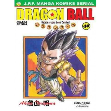 DRAGON BALL tom 40