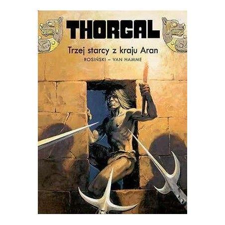 THORGAL tom 3 Trzej starcy z kraju Aran (oprawa twarda)