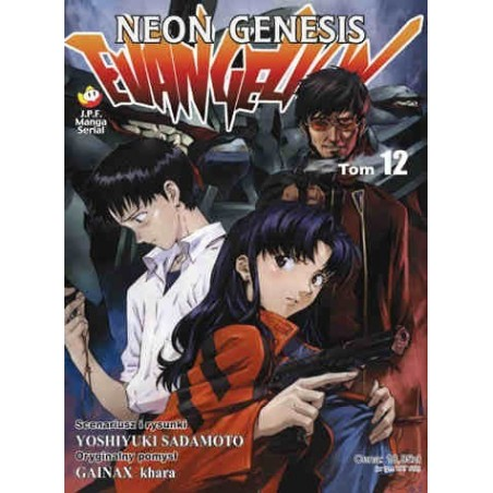 NEON GENESIS EVANGELION tom 12