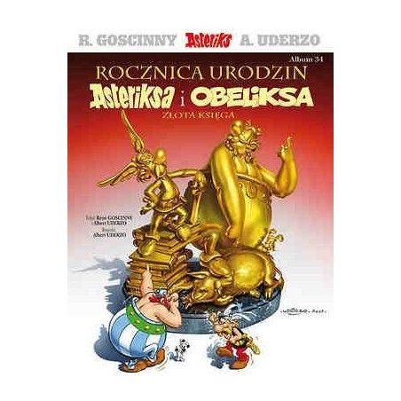 ASTERIKS tom 34 Rocznica urodzin Asteriksa i Obeliksa