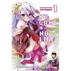 NO GAME NO LIFE tom 1 Light...