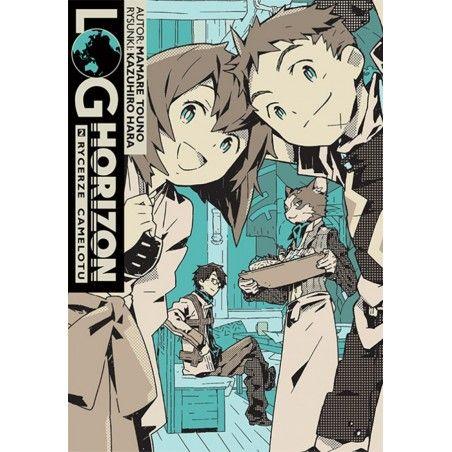 LOG HORIZON Light novel tom 2
