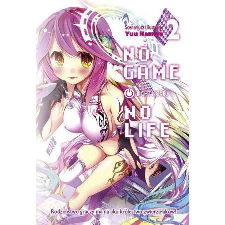 NO GAME NO LIFE tom 2 Light Novel