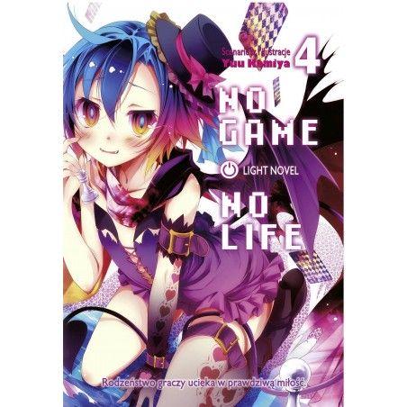 NO GAME NO LIFE tom 4 Light Novel