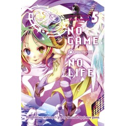 NO GAME NO LIFE tom 5 Light...