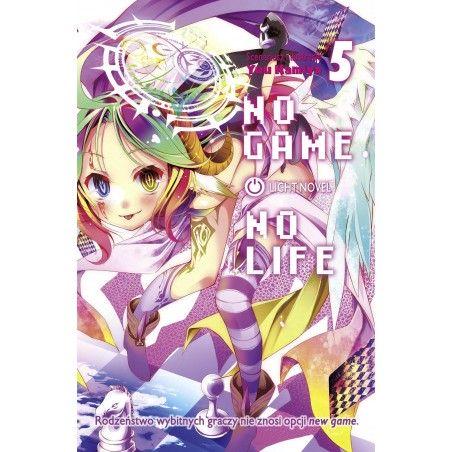 NO GAME NO LIFE tom 5 Light Novel