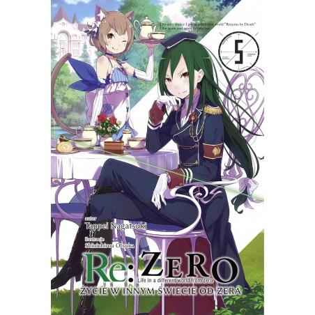 RE ZERO Życie w innym świecie od zera Light novel tom 5